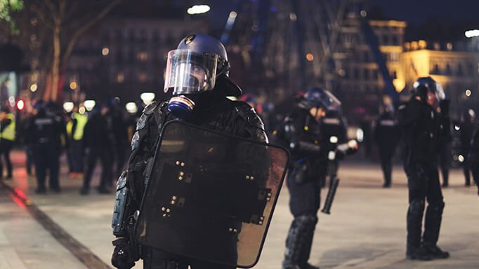 Military Signal Jammer - Application Police on the street - RFDefence Orignal Jammer Maufacture
